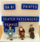 Springside DA81  Seated Passengers Female Painted (3)